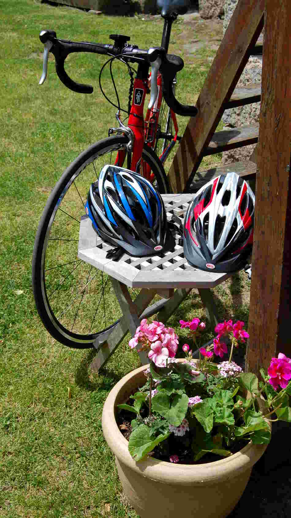 Bike Helmets for Hire at Correze Cycling Holidays France